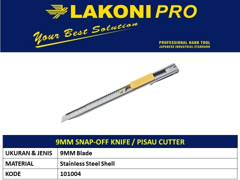 9MM SNAP-OFF KNIFE/PISAU CUTTER