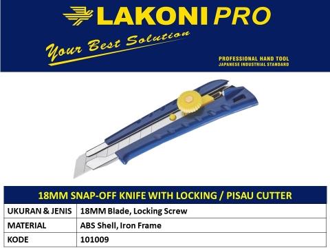 18MM SNAP-OFF KNIFE/PISAU CUTTER