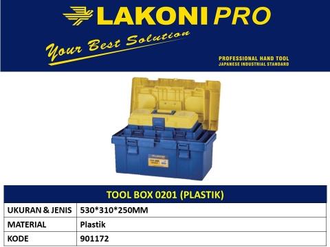 TOOL BOX 0201 (PLASTIK)