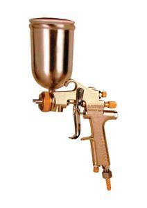 LARGE BRASS NOZZLE & TIP GRAVITY TYPE SPRAY GUN - 400 ML TANK
