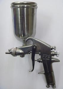 BRASS NOZZLE & TIP GRAVITY TYPE SPRAY GUN - 400 ML TANK