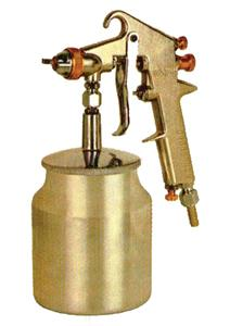 BRASS NOZZLE & TIP GRAVITY TYPE SPRAY GUN - 700 ML TANK