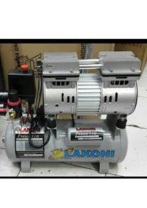 OILLESS SILENT AIR COMPRESSORS 1 HP - 10 LTR (+WATER FILTER)