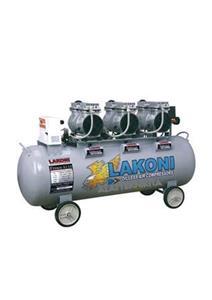 OILLESS SILENT AIR COMPRESSORS 3 X 1 HP - 110 LTR (+WATER FILTER)