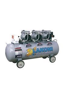 OILLESS SILENT AIR COMPRESSORS 4 X 1 HP - 180 LTR (+WATER FILTER)