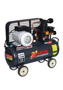 ELECTRIC MOTOR BELT DRIVEN AIR COMPRESSOR 0.25 HP - 32 LTR
