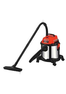 COMMERCIAL VACUUM CLEANER 15 LTR STAINLESS TANK (BLOW, WET & DRY)