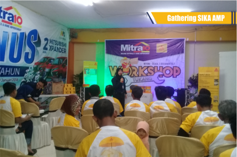 Acara Gathering Sika Bersama Mitra 10 Surabaya