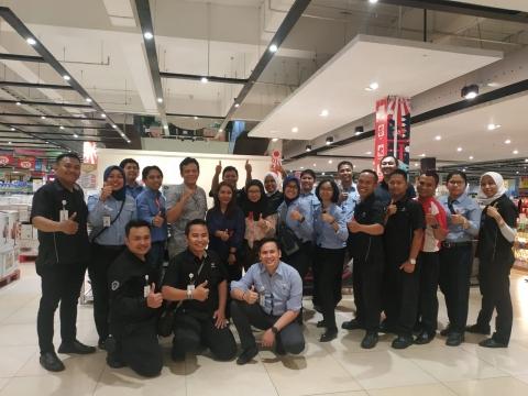 Training Kepala Toko Transmart Se Jawa Timur